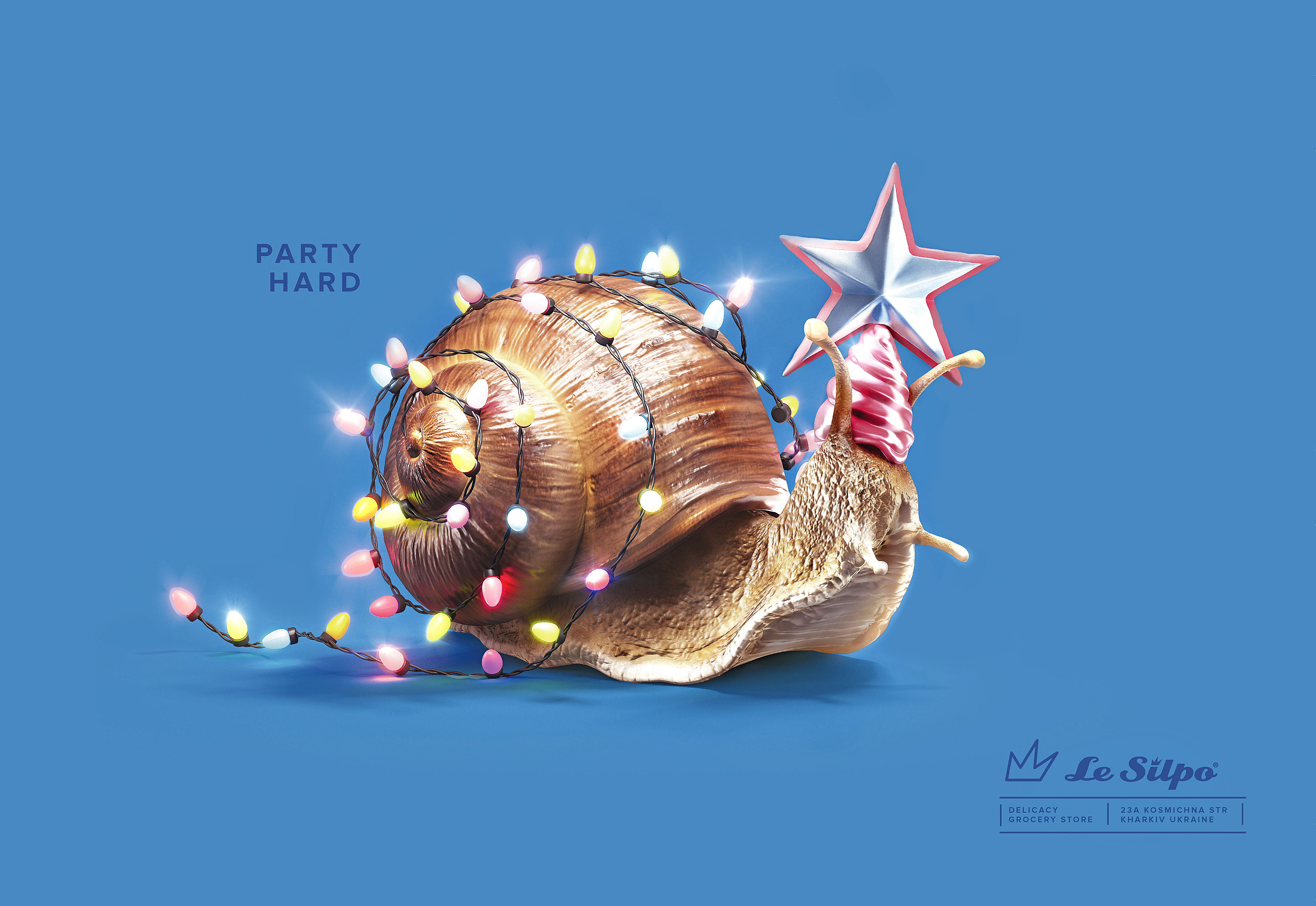 Party Hard. Snail