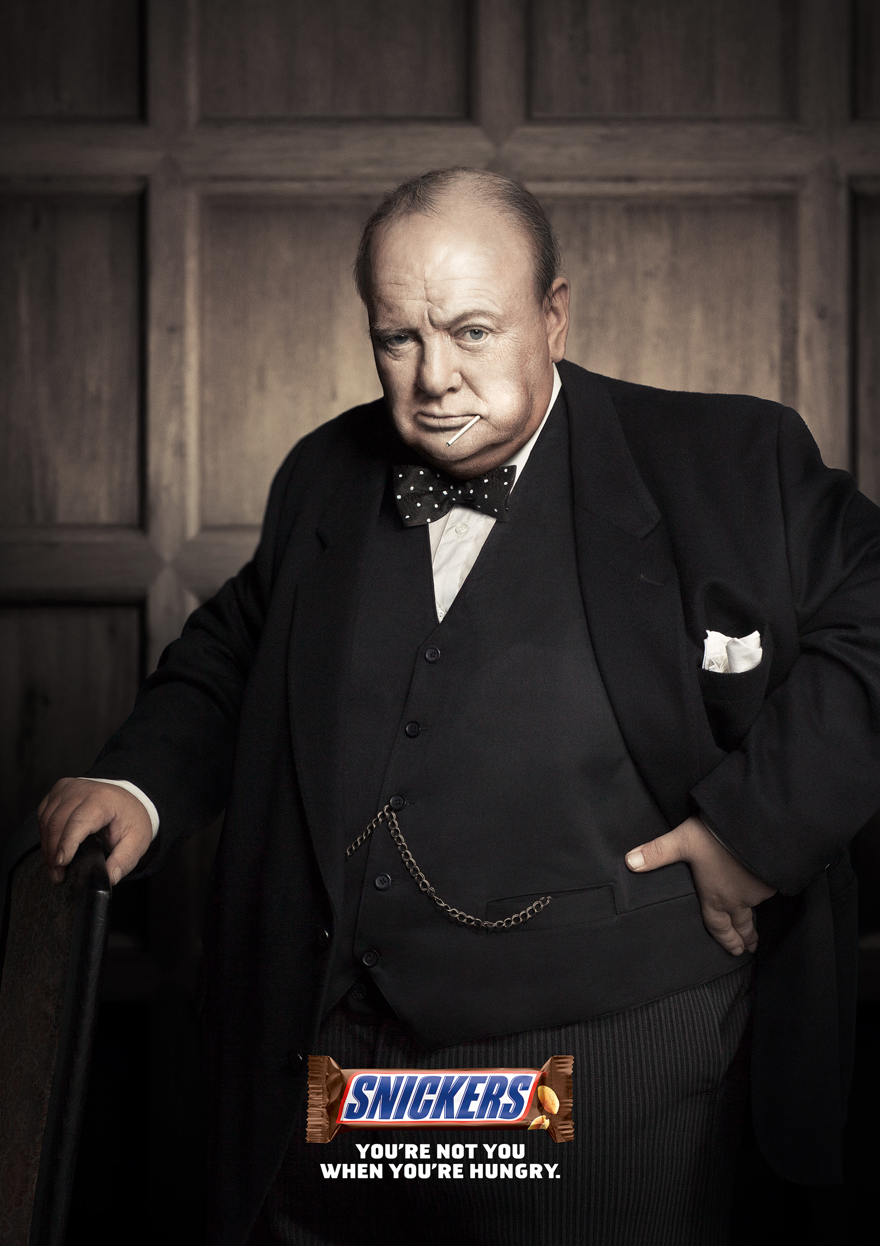 You're not you: British Edition. Churchill